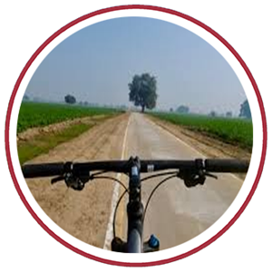 Agra On Cycle